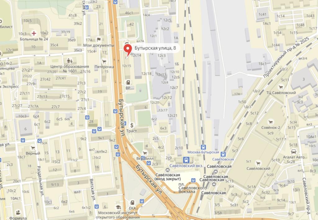 Адрес фотостудии в Москве